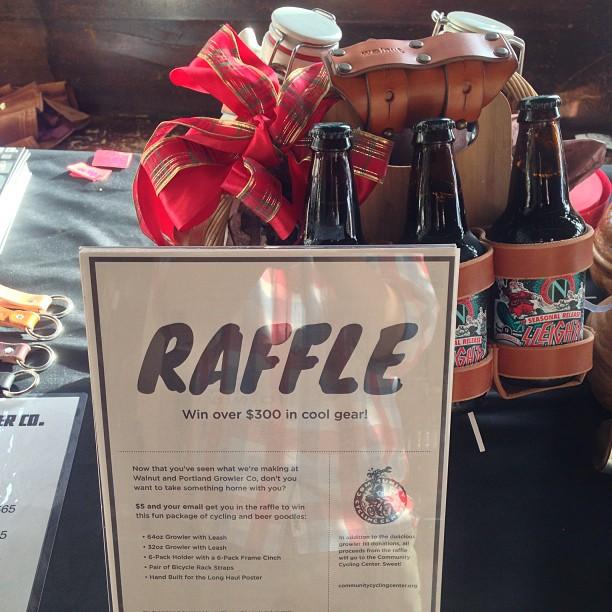 Walnut Studiolo Portland Growler Company Raffle Prize