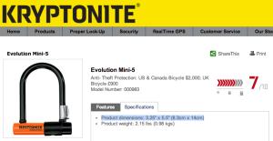 Kryptonite Mini Evo 5 - 3x5 or 5x7?