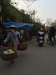 3 forms of transportation, in Hue, Vietnam