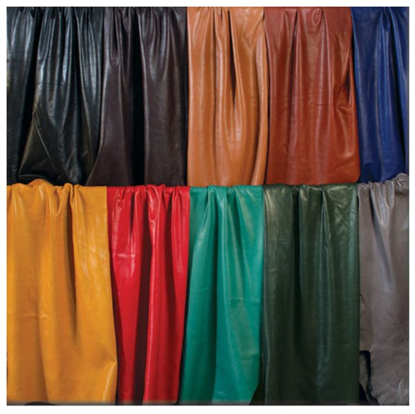 Garment leather colors