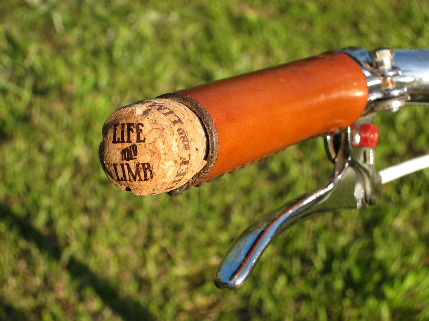 city grips with champagne cork