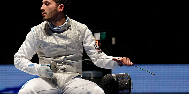 Giorgio Avola, Italian Fencer