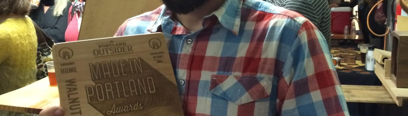 Portland Made Award, Walnut Studiolo