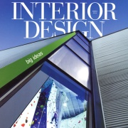 Interior Design Magazine March 2014 featuring Walnut Studiolo wood and leather Drawer Pulls