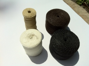 Waxed Thread Color Choices for Sew-on Leather Bar Wraps