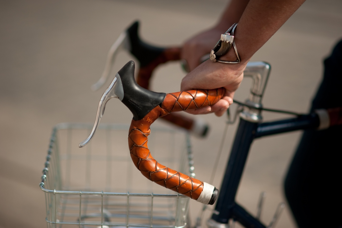 Introducing A New Way To Wrap Your Handlebars In Leather