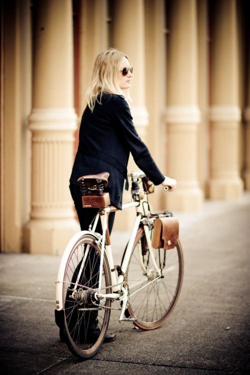 Credit Erin Berzel Woman Bicyclist