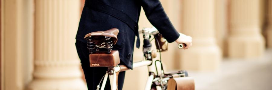 Credit Erin Berzel Woman Bicyclist