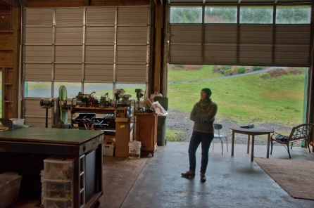 Walnut Studiolo on the Oregon Coast