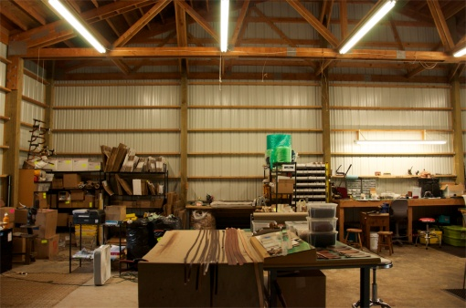 Our new expansive space