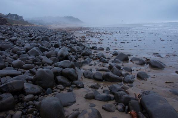 The rocky Oregon Coast