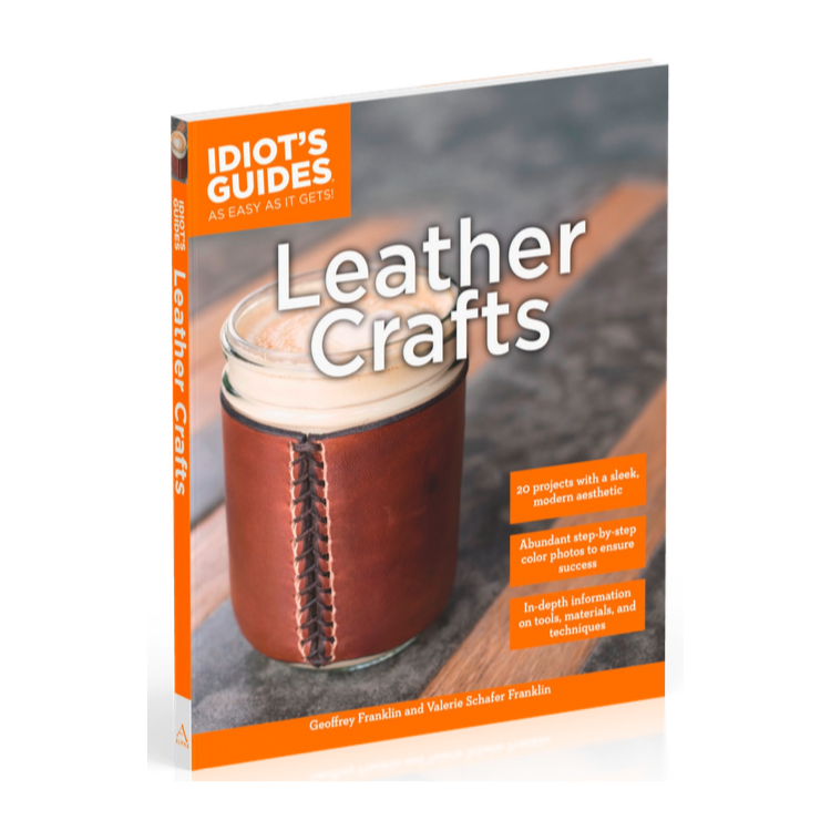 IG Leather Crafts Book Cover Image Angle square