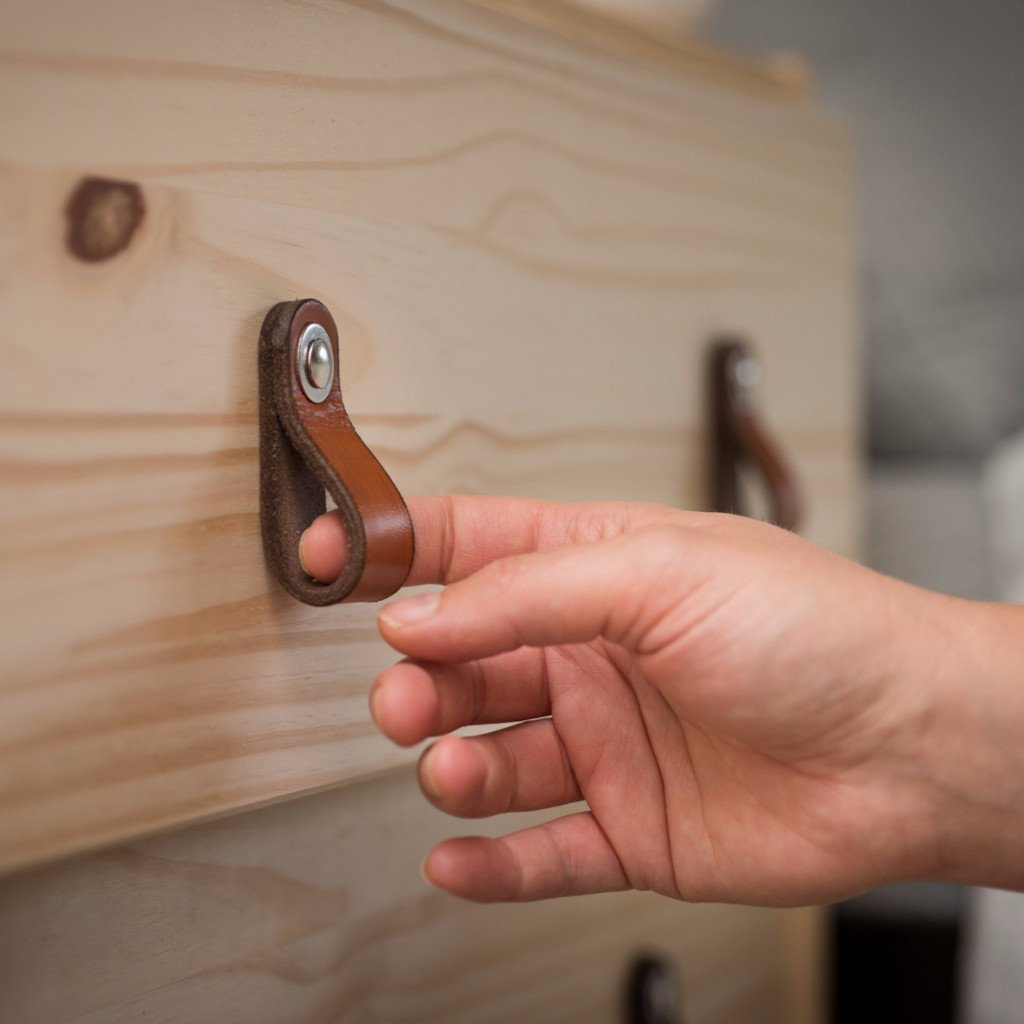 Project Lookbook: Leather Drawer Pull Hacks for IKEA and Beyond ...
