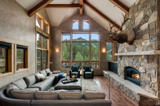 Beverly Voss Design One Interiors-living-small