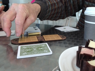 Travel Cribbage, Midwestern style