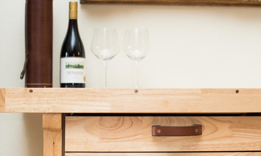 Leather Wine Bottle Case