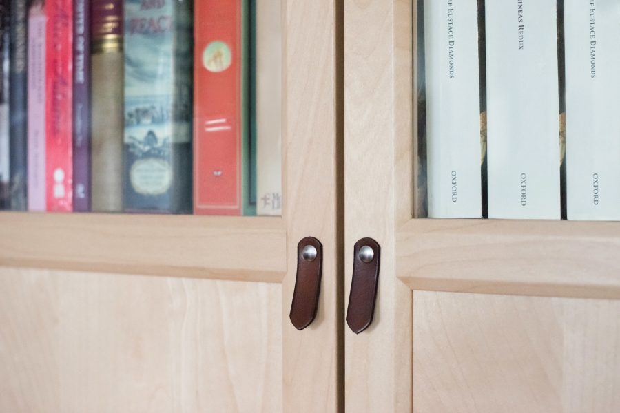 Leather Tab Door Pull