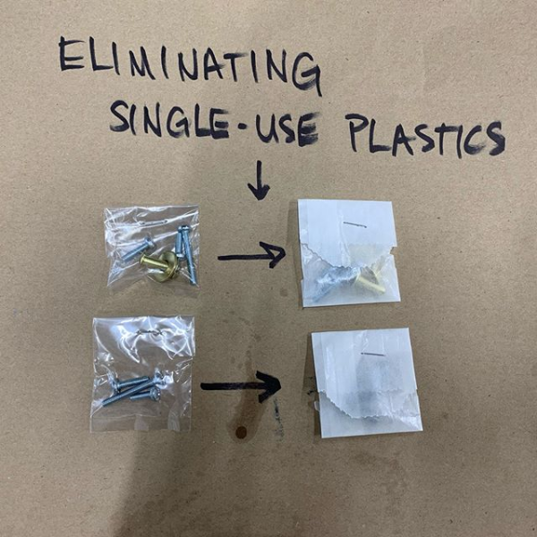 Eliminating Single Use Plastics
